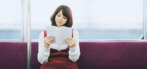 速読で人と同じ時間でも多くの情報量を得られてご機嫌な女の子